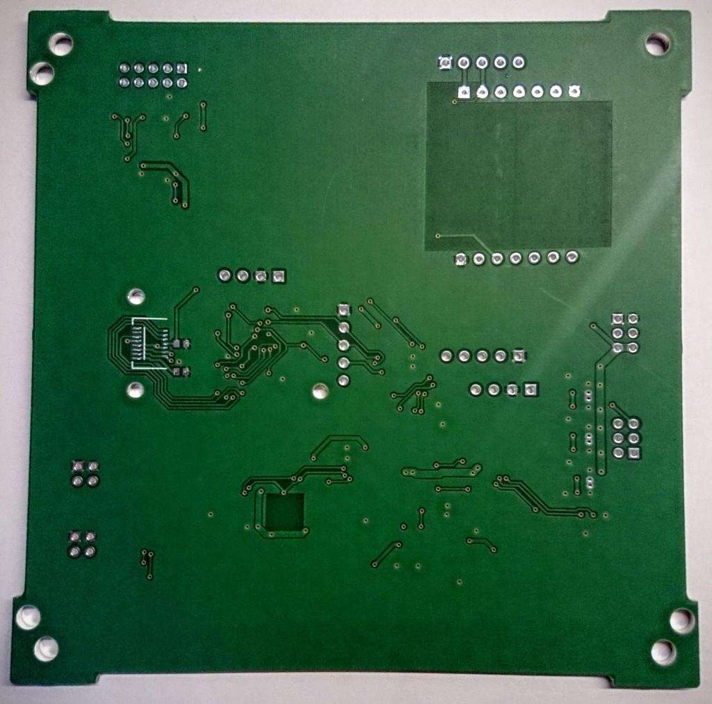 Final ADCS PCB back