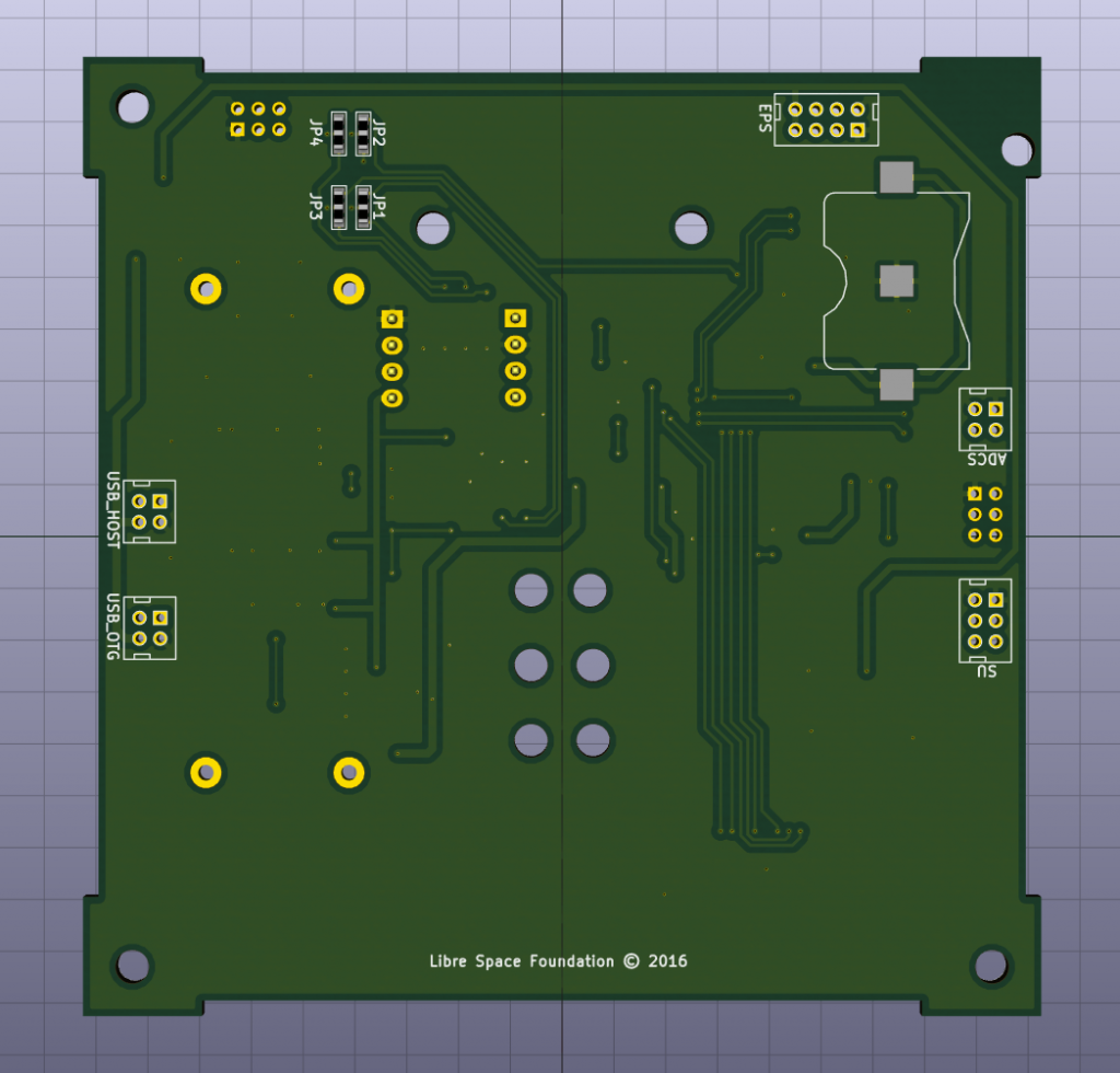 OBC PCB back
