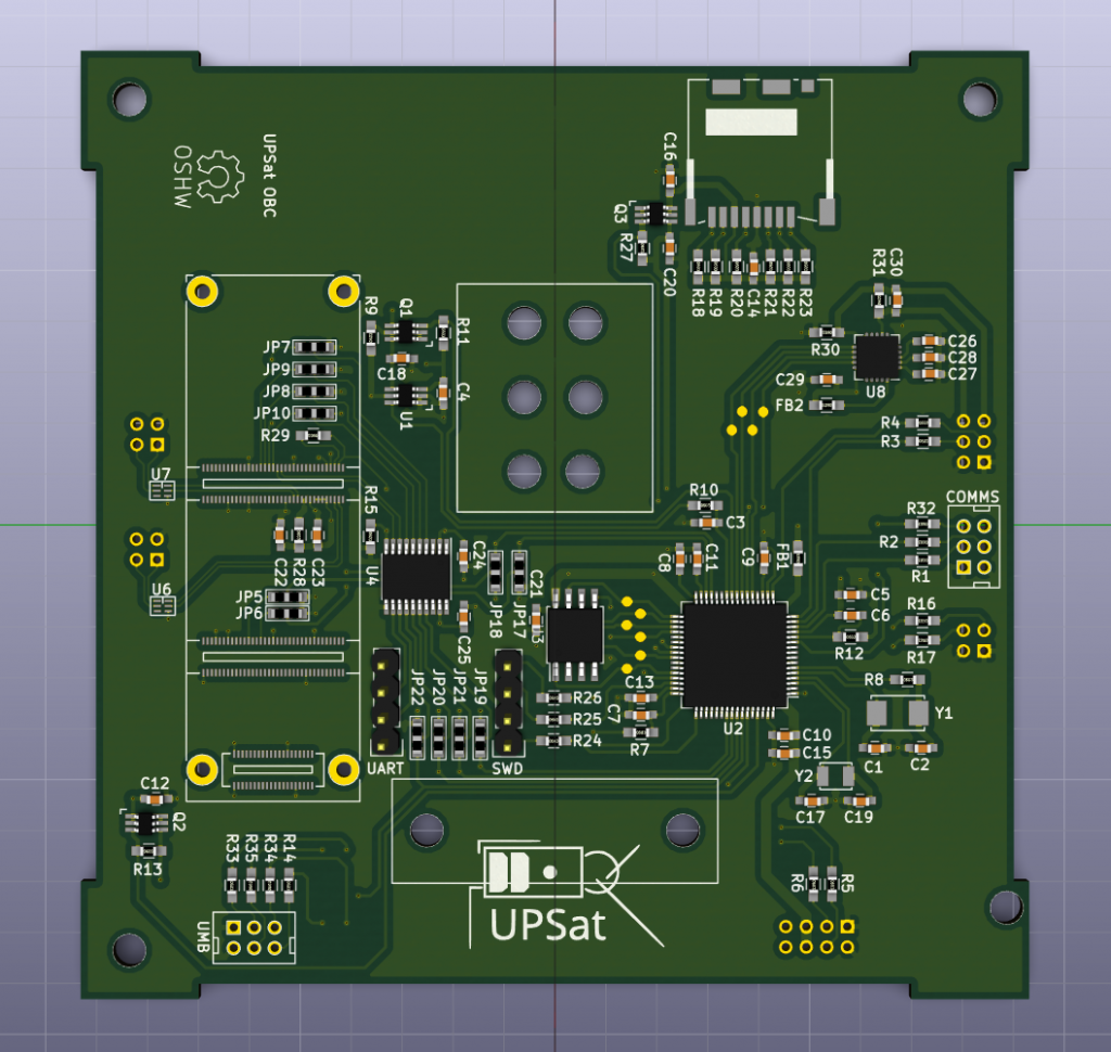 OBC PCB front