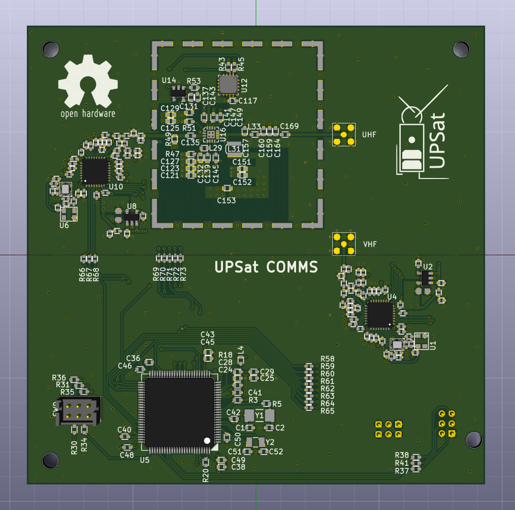 COMMS PCB Front